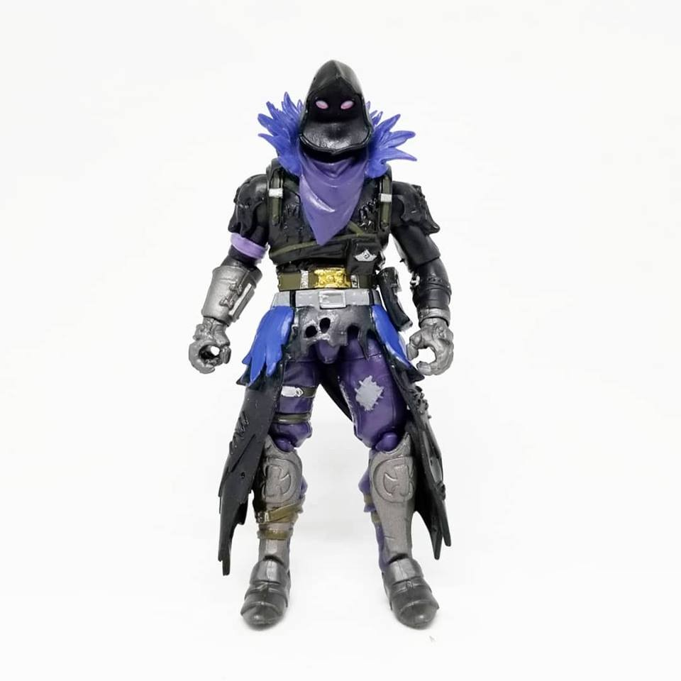 1:18 Archive Jazwares Fortnite Action Figure Checklist Guide Review Raven