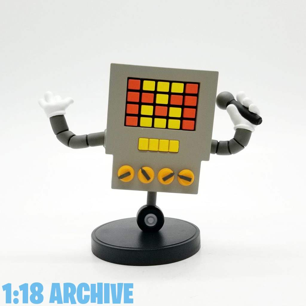 1:18 Scale Action Figure Archive Droid of the Day Fangamer Undertale Checklist Review Guide Mettaton