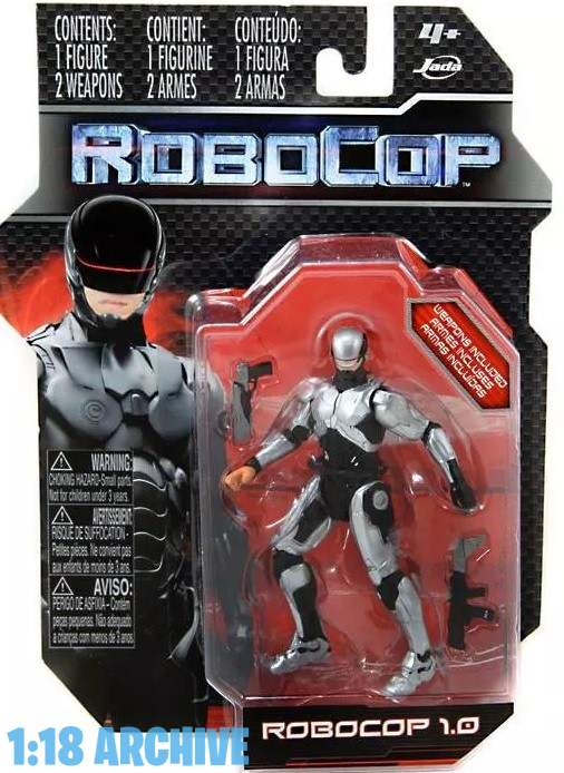 118 Droid of the Day Jada Toys 2014 Robocop reviews checklist guide Robocop1.0