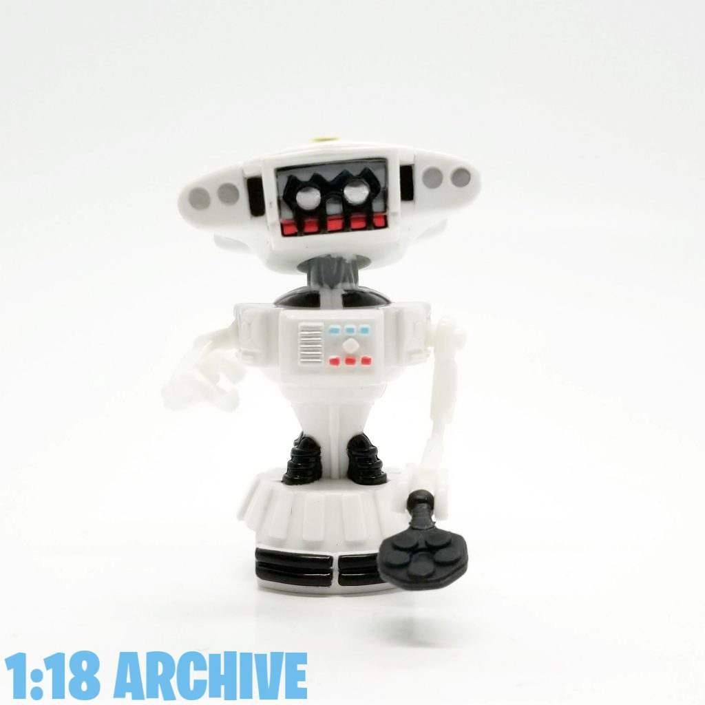 1:18 Archive Droid of the Day Vivid Imaginations Space Precinct Action Figure Checklist Guide Slomo Robot