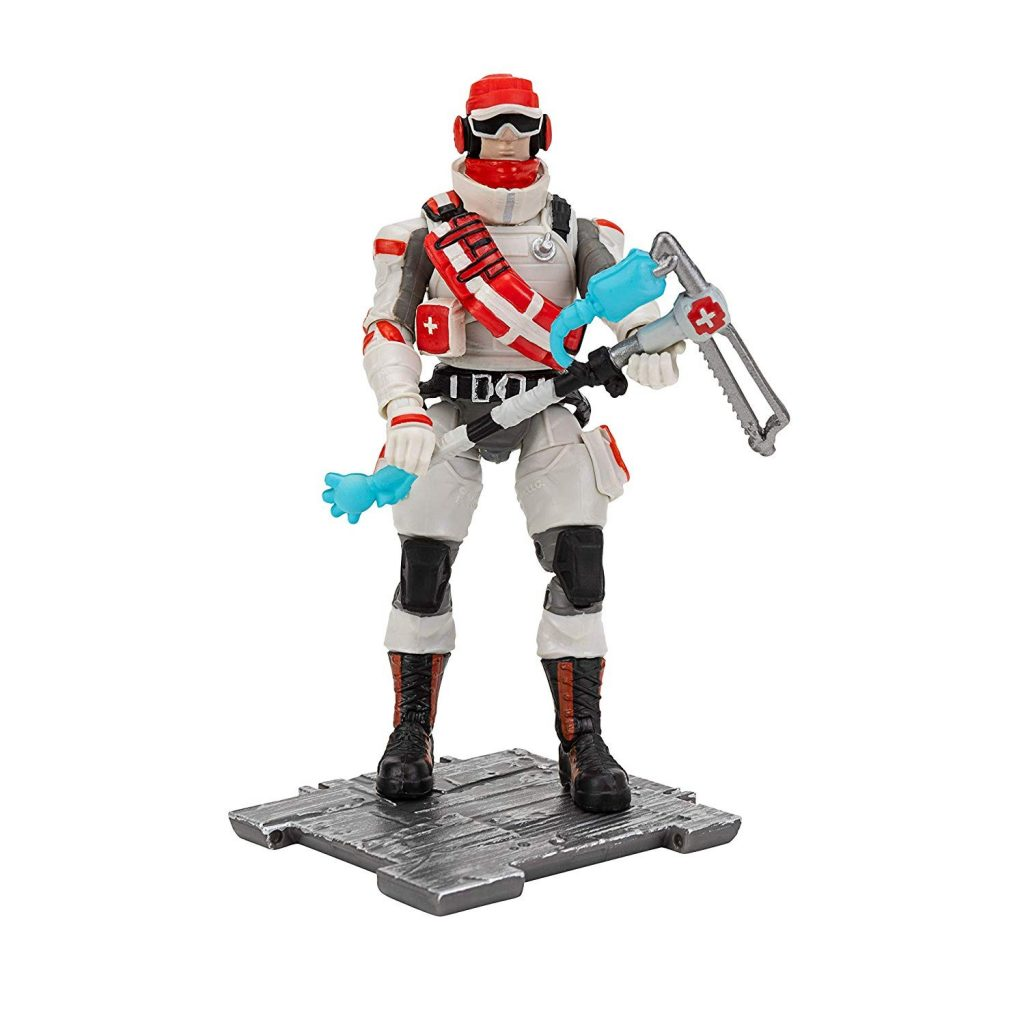 1:18 Archive Jazwares Fortnite Action Figure Checklist Guide Review Triage Trooper Lifeline