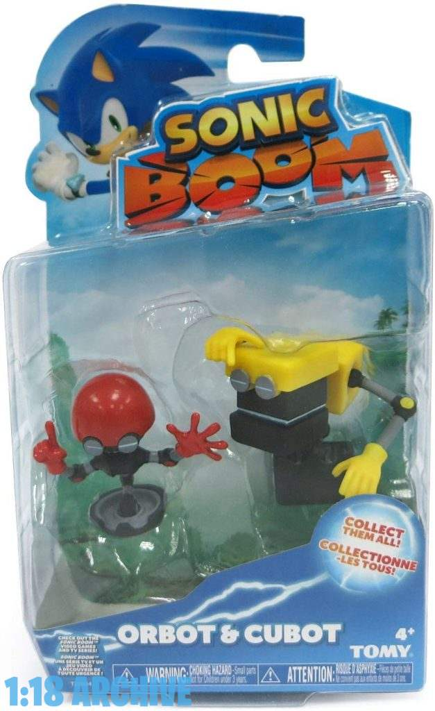 Orbot Sonic Boom Tomy Toys Checklist