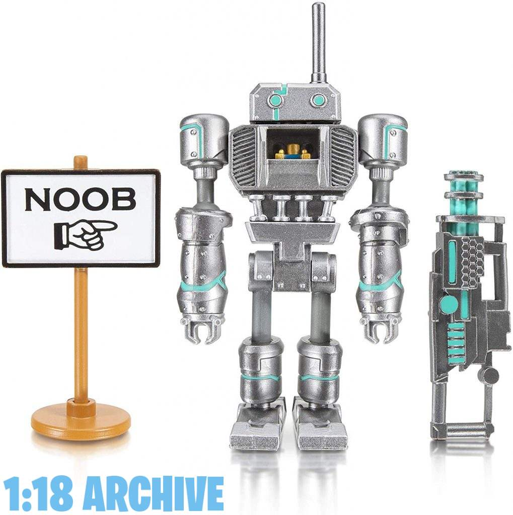 1:18 Archive Jazwares Roblox Action Figure Checklist Guide Review Noob Attach Mech Mobility