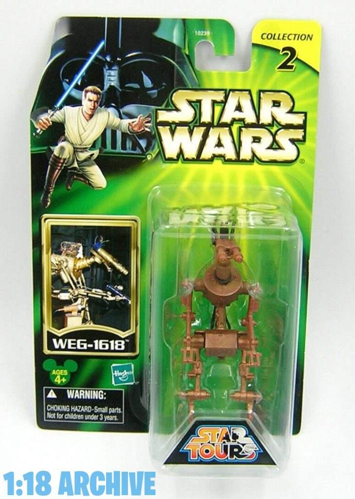 1:18 Archive Hasbro Star Wars Star Tours Action Figure Checklist Guide WEG-1618