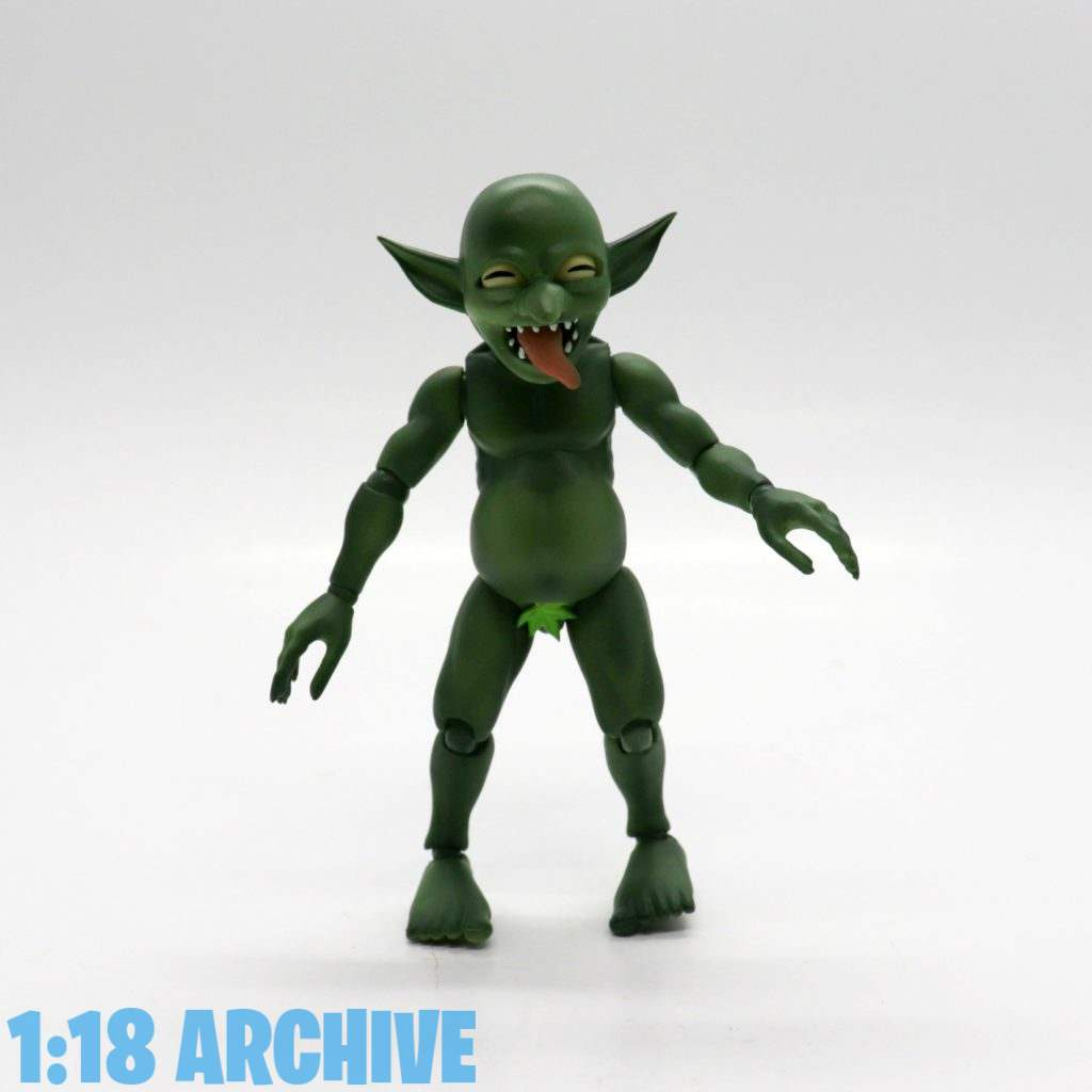 1:18 Action Figure Archive Reviews Checklist Guide Alphamax Skytube Premium Love Monsters Goblin Kun