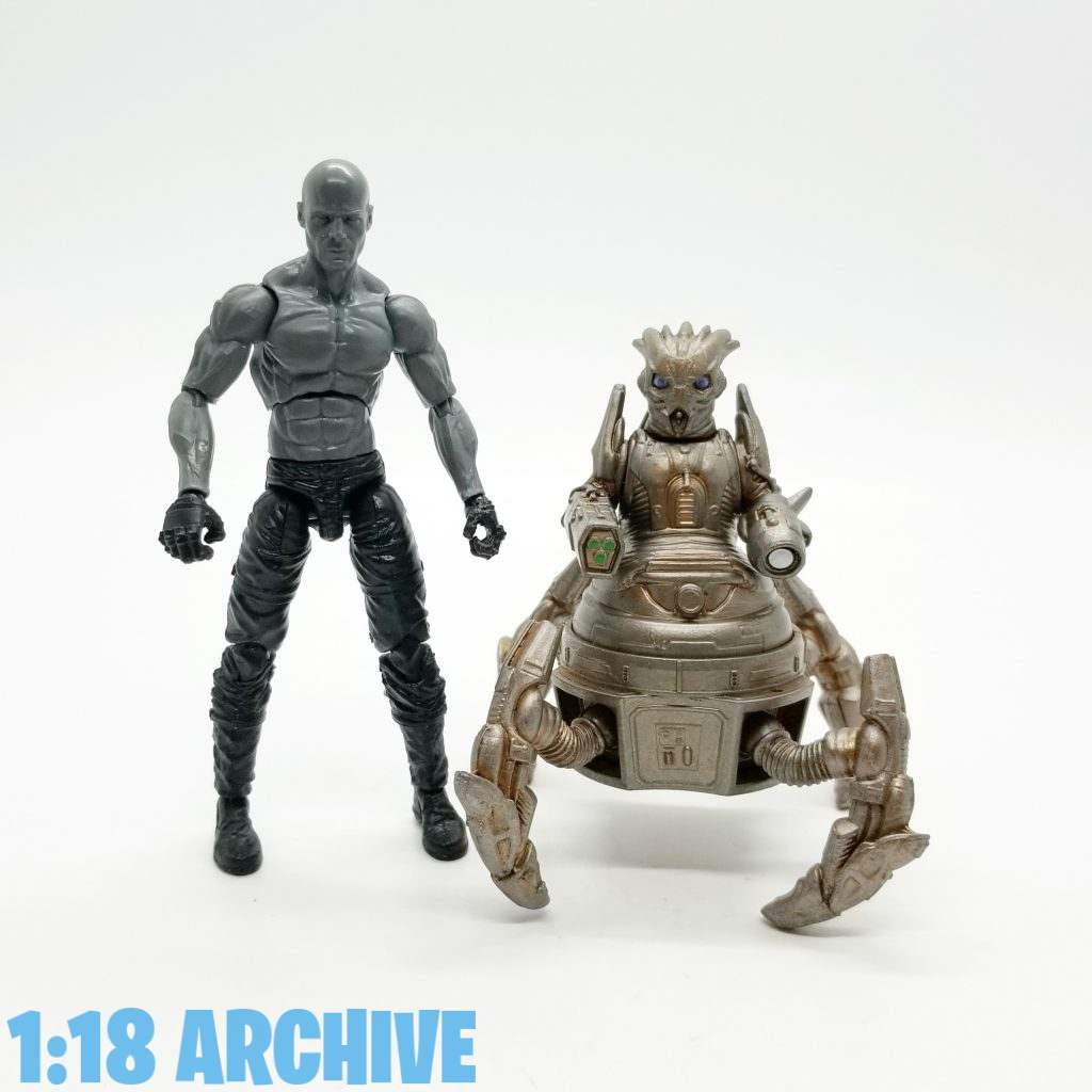 1:18 Action Figure Archive Droid of the Day Reviews Checklist Guide Character Options Underground Toys Doctor Who Skovox Blitzer