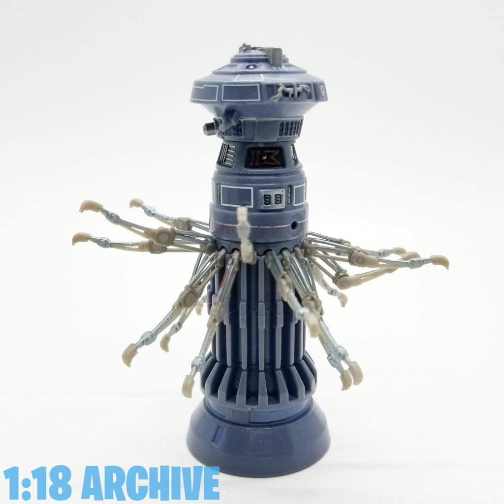1:18 Action Figure Archive Droid of the Day Reviews Checklist Guide Hasbro Star Wars Power of the Jedi FX-7