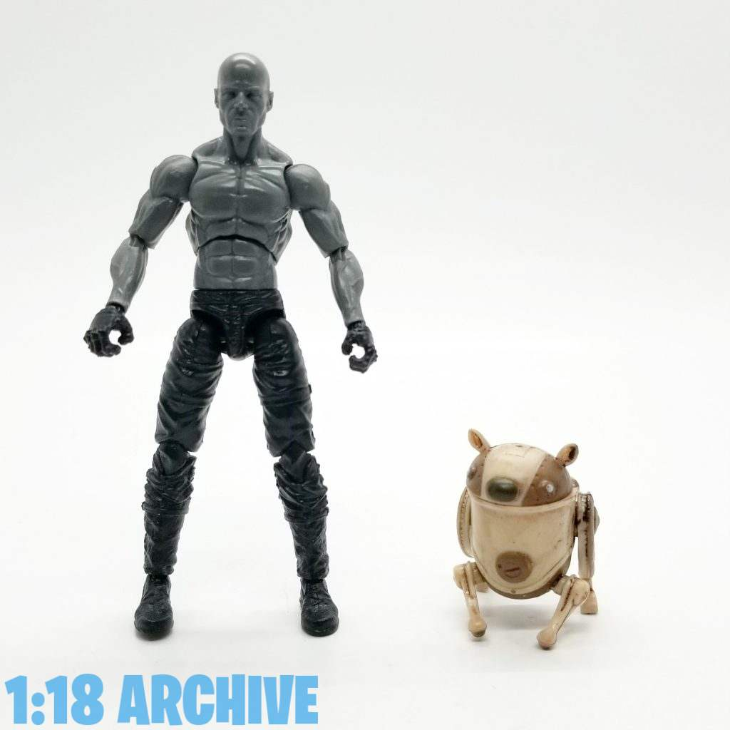 1:18 Action Figure Archive Droid of the Day Reviews Checklist Guide Jazwares Astroboy Trashcan Dog