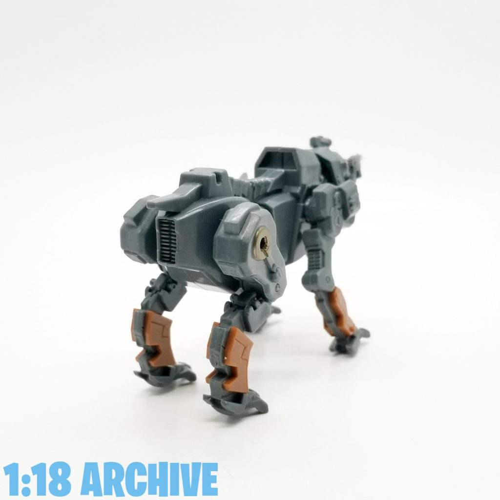 1:18 Action Figure Archive Droid of the Day Reviews Checklist Guide MandC World Peacekeepers Mobile Mastiff Dog