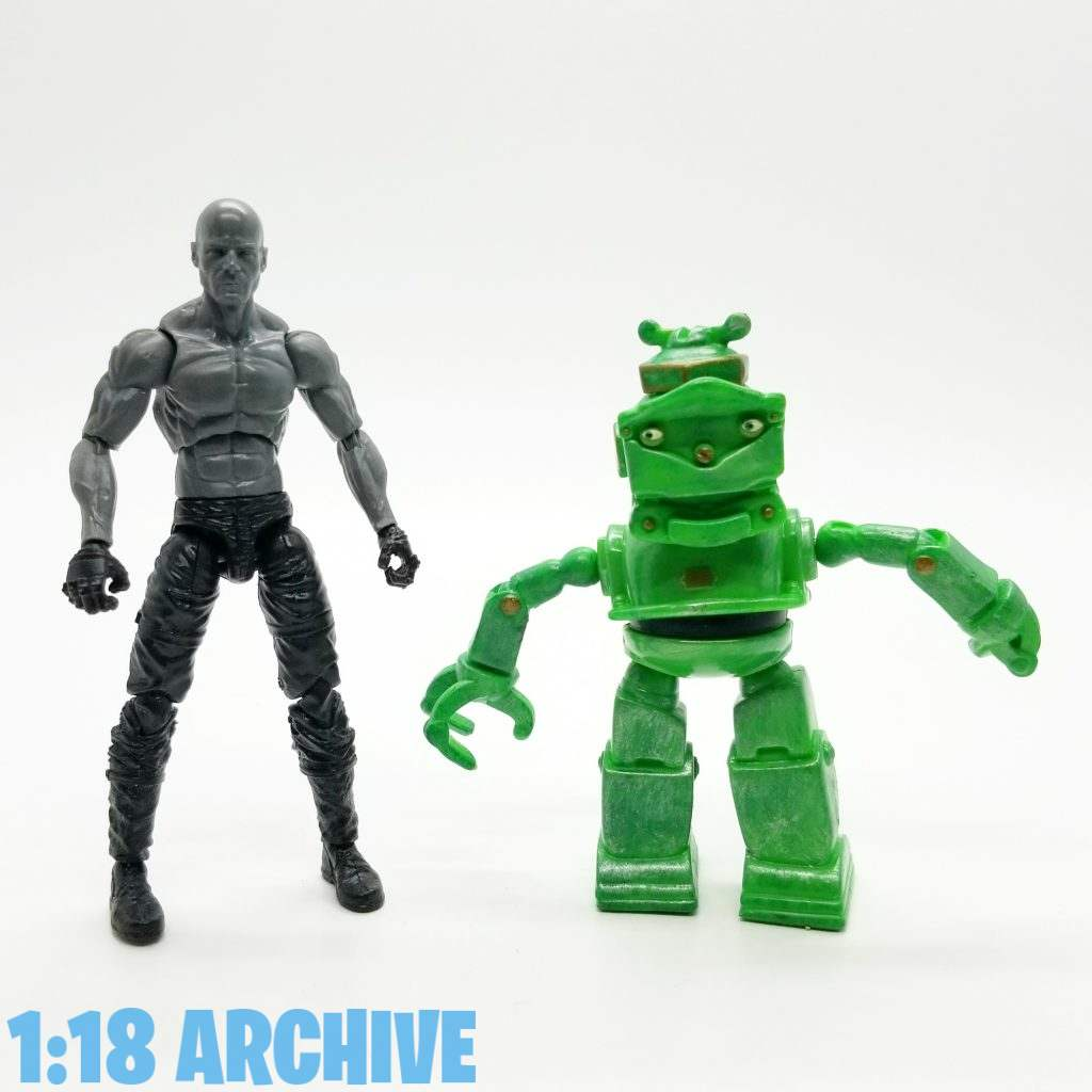 1:18 Action Figure Archive Droid of the Day Reviews Checklist Guide Mattel Robots Movie Mix and Match Lug
