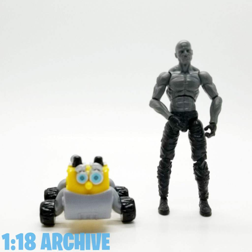1:18 Action Figure Archive Droid of the Day Reviews Checklist Guide Spin Master Rusty Rivets Bytes