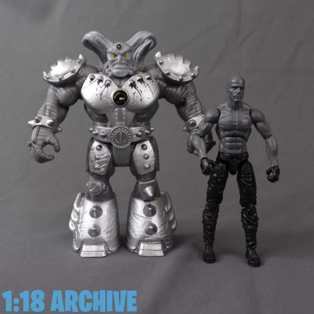 1:18 Action Figure Archive Droid of the Day Reviews Checklist Guide Spin Master Toys Monster Jam Creatures Maximus