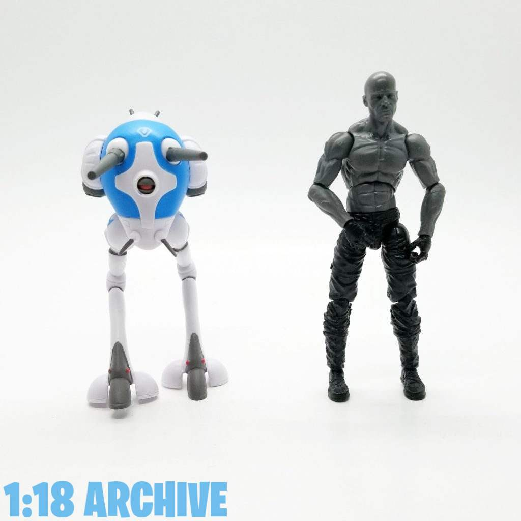 1:18 Action Figure Archive Droid of the Day Reviews Checklist Guide Supe7 ReAction Robotech Zentraedi Battlepod