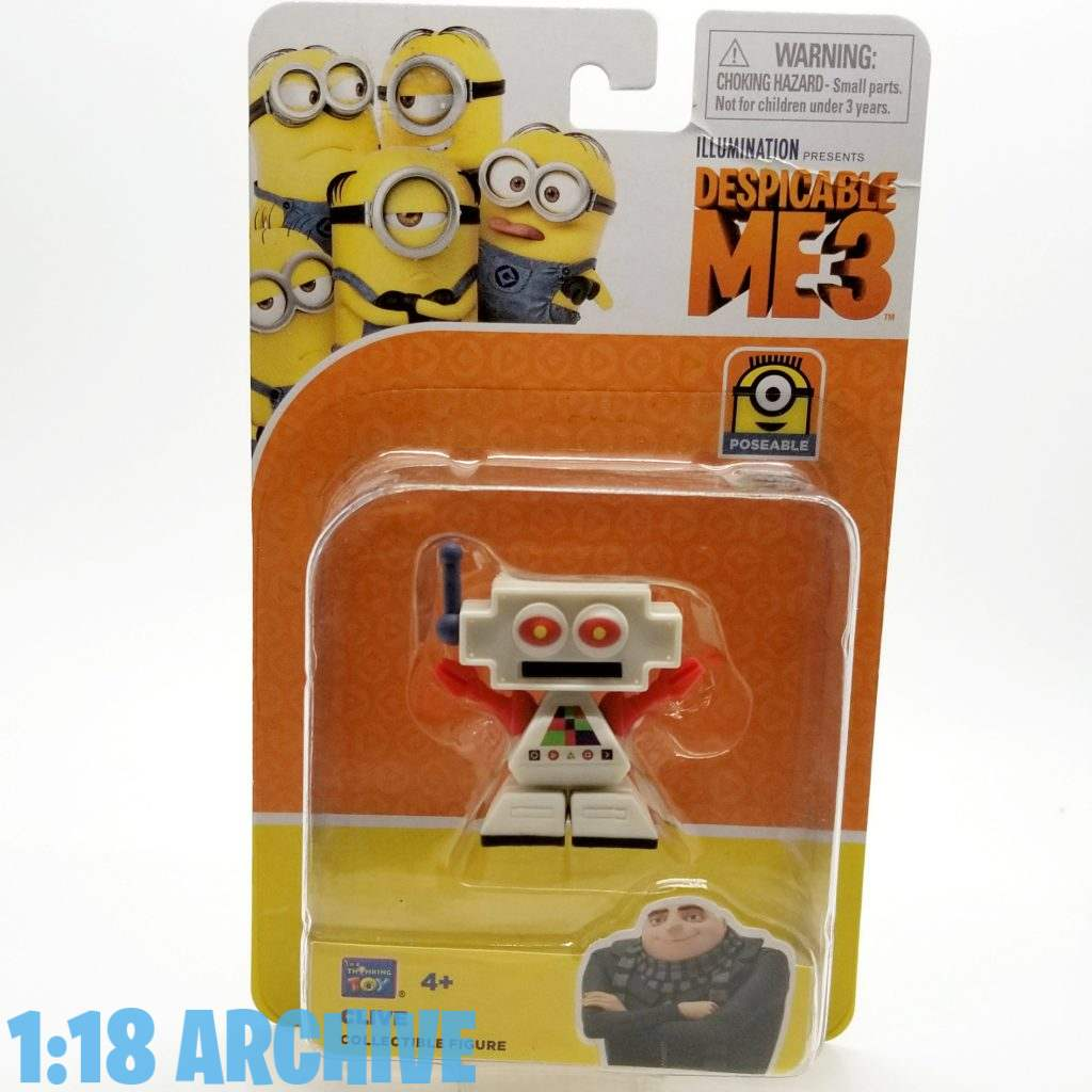 1:18 Action Figure Archive Droid of the Day Reviews Checklist Guide Thinkway Toys Despicable Me 3 CLIVE