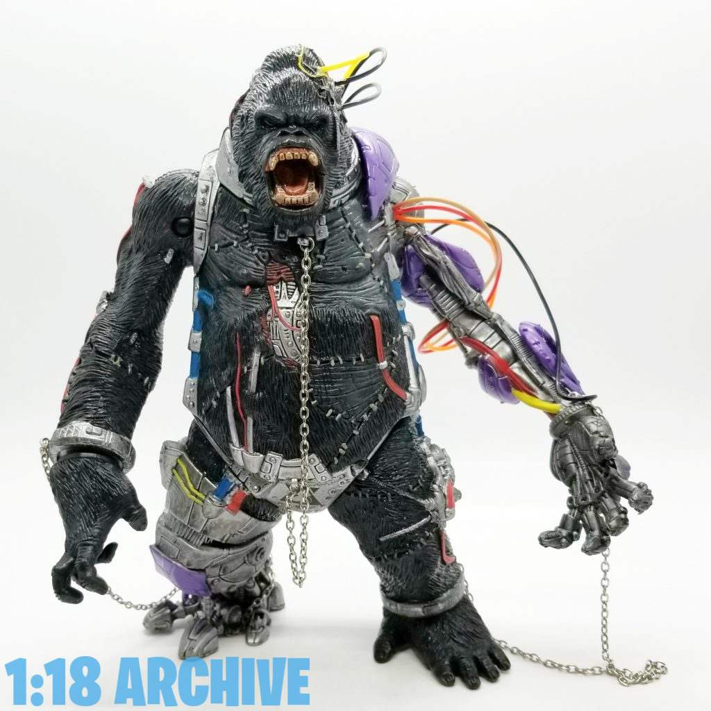 1:18 Scale Action Figure Archive Droid of the Day McFarlane Toys Spawn Checklist Review Guide Cygor-II 2