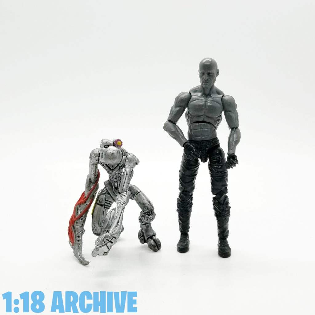 1:18 Scale Action Figure Archive Droid of the Day McFarlane Toys Spawn Checklist Review Guide Cygor2 Cyberchimp
