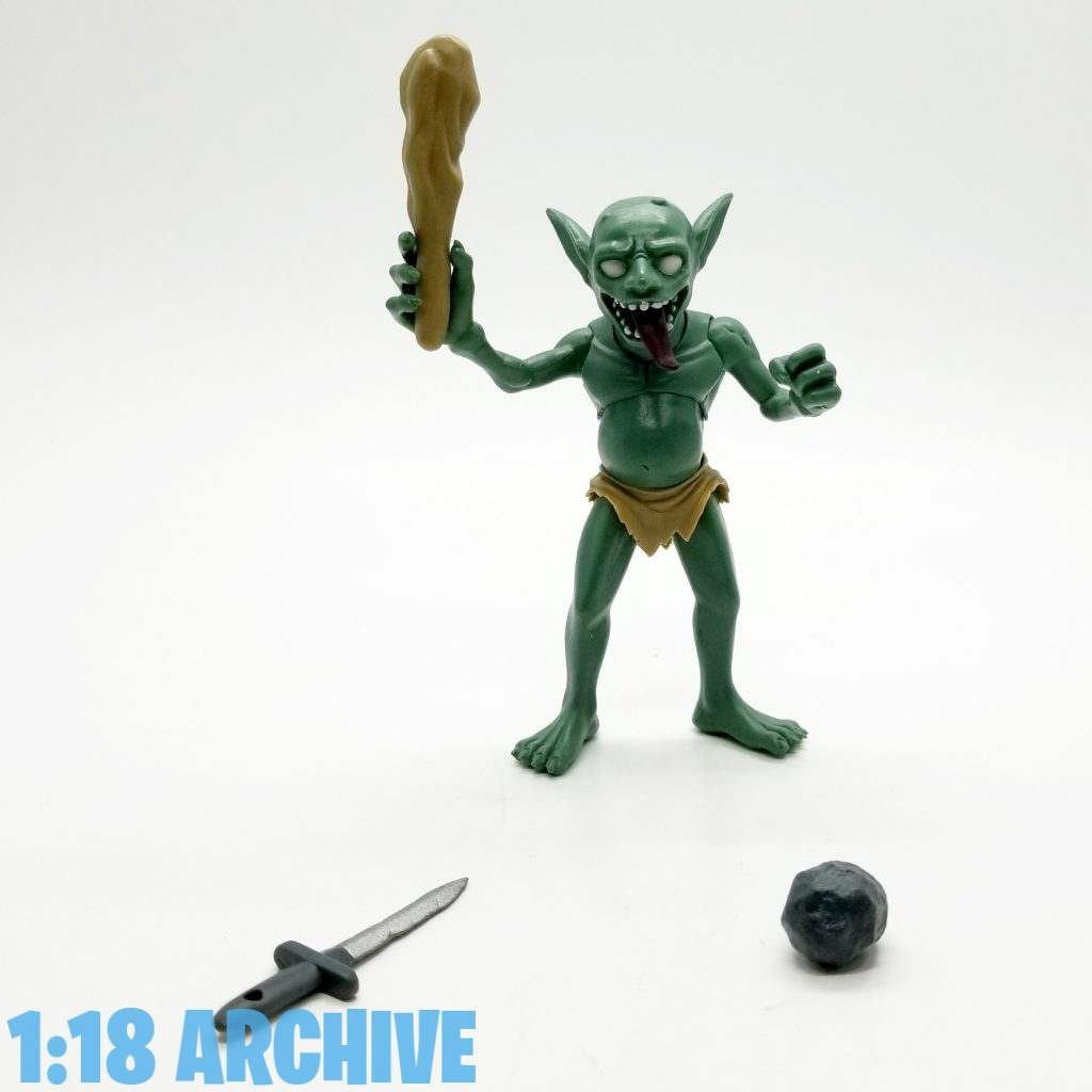 1:18 Action Figure Archive Reviews Checklist Guide Aquamarine WakuWaku Goblin Village Posable Figure Goblin Slayer