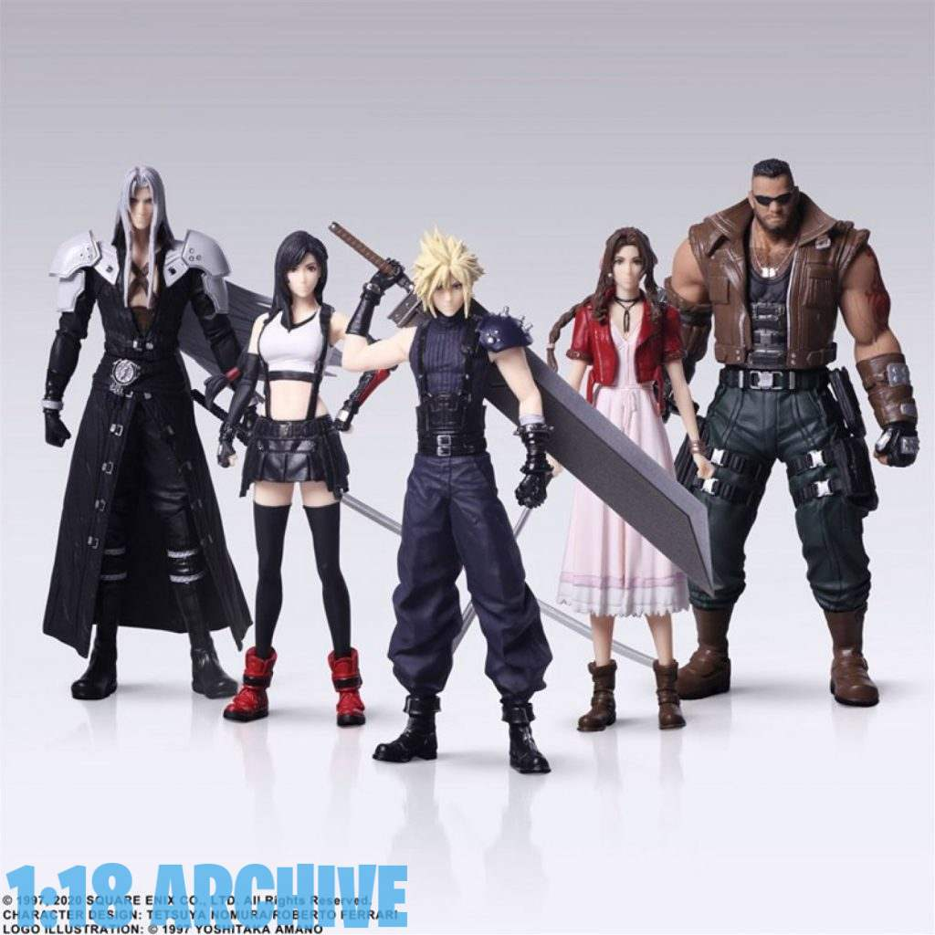 118_Action_Figure_Archive_Reviews_Checklist_Guide_Final_Fantasy_VII_7_Remake_Trading_Arts