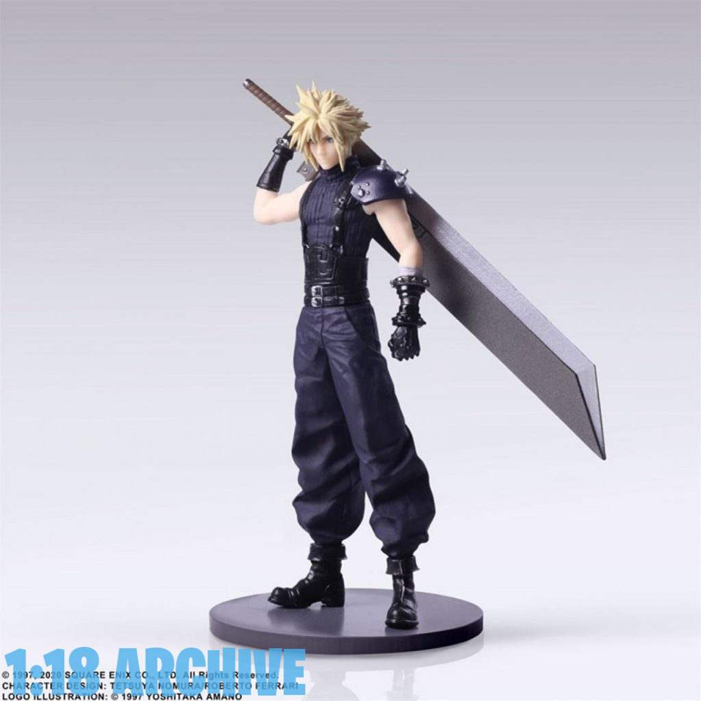 118_Action_Figure_Archive_Reviews_Checklist_Guide_Final_Fantasy_VII_7_Remake_Trading_Arts_Cloud_Strife