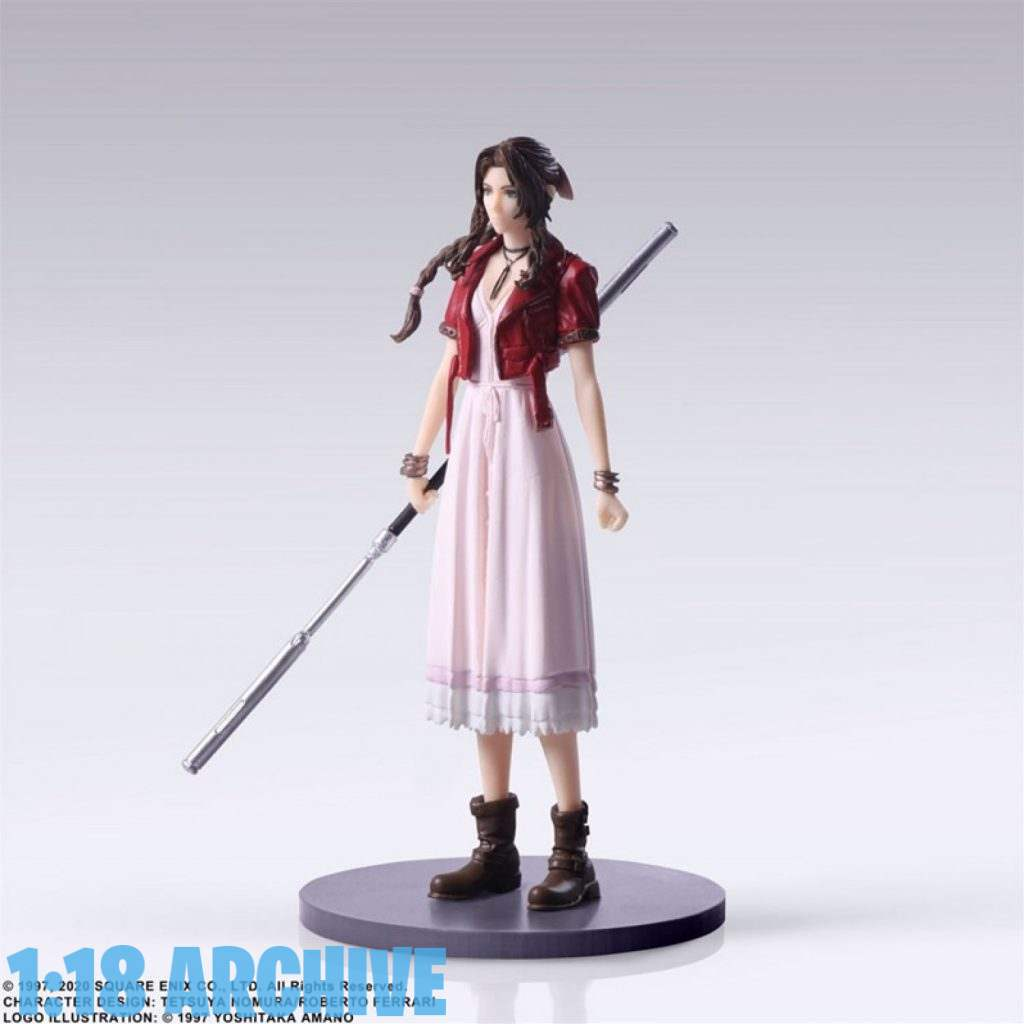 118_Action_Figure_Archive_Reviews_Checklist_Guide_Final_Fantasy_VII_7_Remake_Trading_Arts_Aries_Aerith