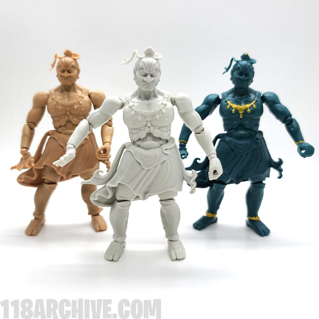 118 action figure archive toysspirits poetic justice destroy Kanzenchōaku Messeyo nio narayana review guide checklist